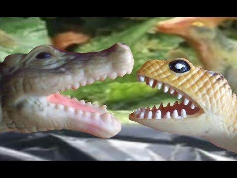 Dinosaur Battle- Deinosuchus vs Koolasuchus