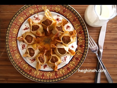 Մանթի / Բորակի - Armenian Manti Recipe - Heghineh Cooking Show in Armenian