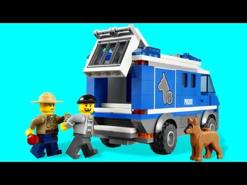LEGO Police Dog Van 4441 LEGO City Forest Police Review