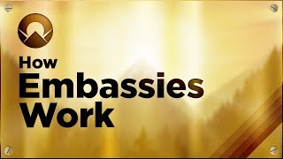 Mini Countries Abroad: How Embassies Work