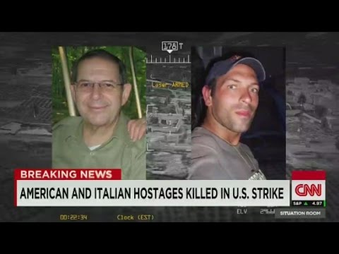 Hostages killed in US drone strike