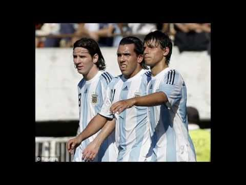 Leo Messi, Kun Aguero & Carlos Tevez  - Three Best Friends