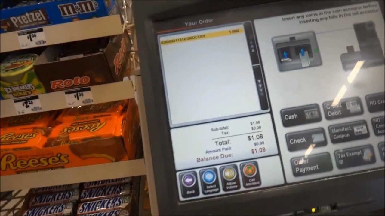 The Home Depot Self Checkouts Before And After Youtube