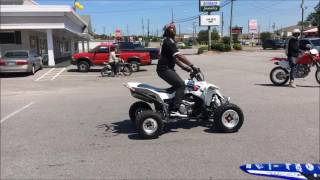 Dirt Bike Club shuts down Car Show in Fayetteville NC