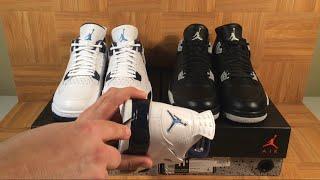 482db7e0ba70bb ShoeZeum Remastered Or Ridiculous  Columbia Legend Blue and Oreo Nike Air  Jordan 4s