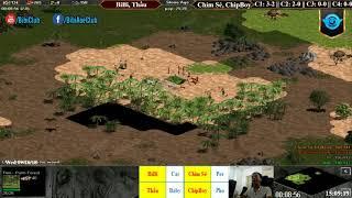 C2T3 - AoE 22 Random BiBi, Thầu vs Chim Sẻ, Chip Boy Ngày 26-9-2018