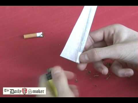 Daily Smoker - roll a joint - Inside Out Video