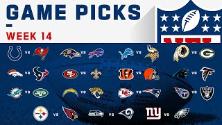 Week 14 Game Picks | NFL 2019