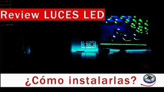 Review e instalación luces LED | En ESPAÑOL
