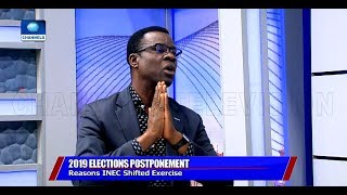 Election Postponement: INEC Official Breaks Down Logistic Challenges Faced Pt.2 |Sunday Politics|