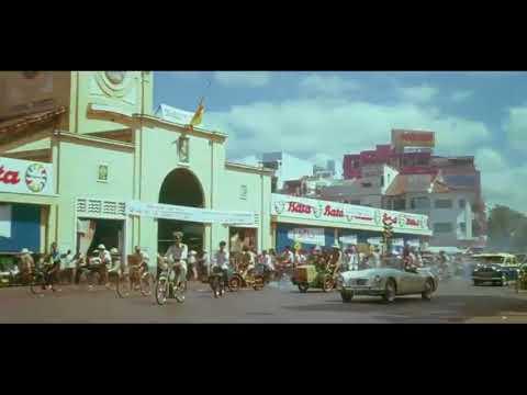 Quang cảnh Sài Gòn năm 1968