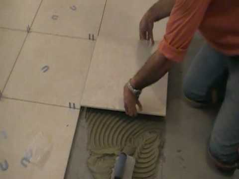 How to Install Porcelain Tiles or Ceramic Tiles (7 of 9) Music Videos
