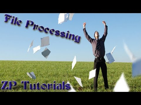 zennoposter 5 tutorials (file processing)