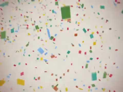 結婚式の無料素材 紙吹雪 Confetti「welcome To Our Wedding」 Youtube