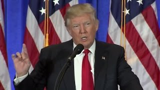 Trump Full Press Conference as President-Elect (HD)
