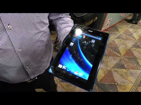 Acer Iconia tablet B1 hands-on
