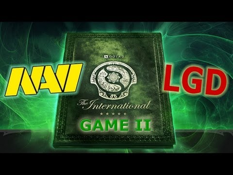 The International 3. Na`Vi vs LGD.cn game 2. Болеем за наших вместе с Dota Discovery