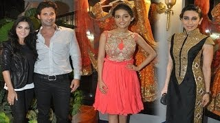Jism 2 - Karisma, Amrita & Sunny Leone Spotted At A Store Launch