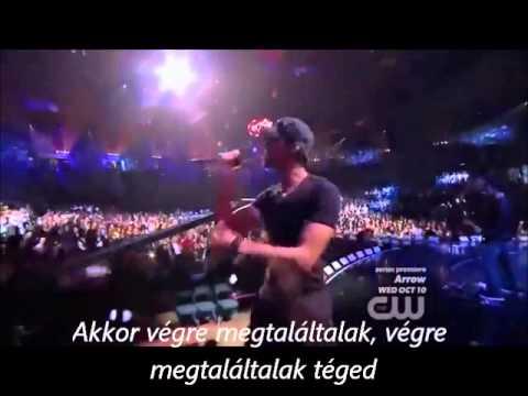 Enrique Iglesias - Finally Found You Hungarian Lyrics video