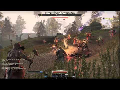 The Elder Scrolls Online - Massive PVP Fort Battle on Ultra