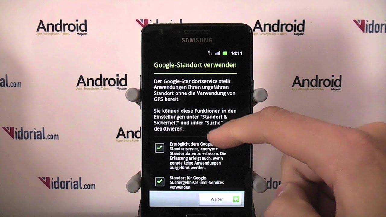 android basiswissen 1 ger t einrichten und google konto anlegen youtube. Black Bedroom Furniture Sets. Home Design Ideas