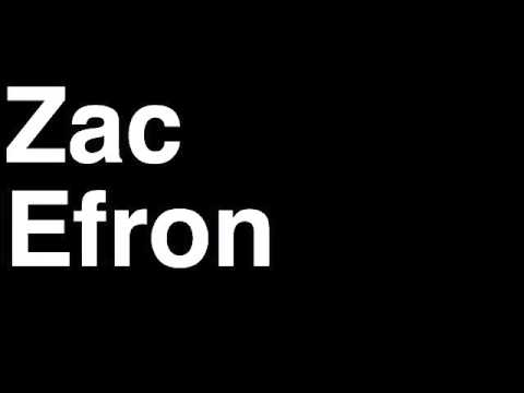 Zac Efron Buttcrack Ho...