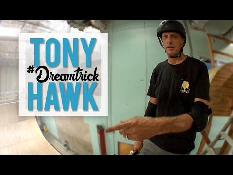 Tony Hawk Does His Dream Trick