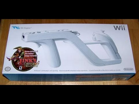 [Unboxing - Wii] Wii Zapper com Link's Crossbow Training - PT-BR