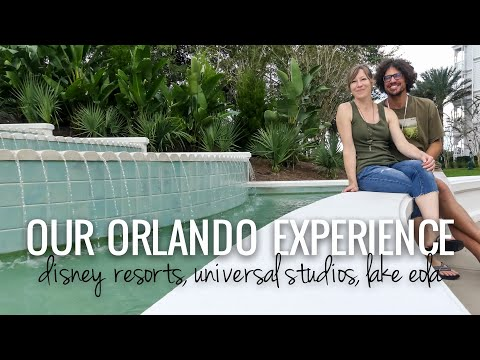 Our Stay in Orlando || Islands of Adventure, Strolling Disney Resorts, Eola Park