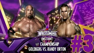 WWE 2K14 - WrestleMania XXX #3 FR - Goldberg vs Orton - WWE Title