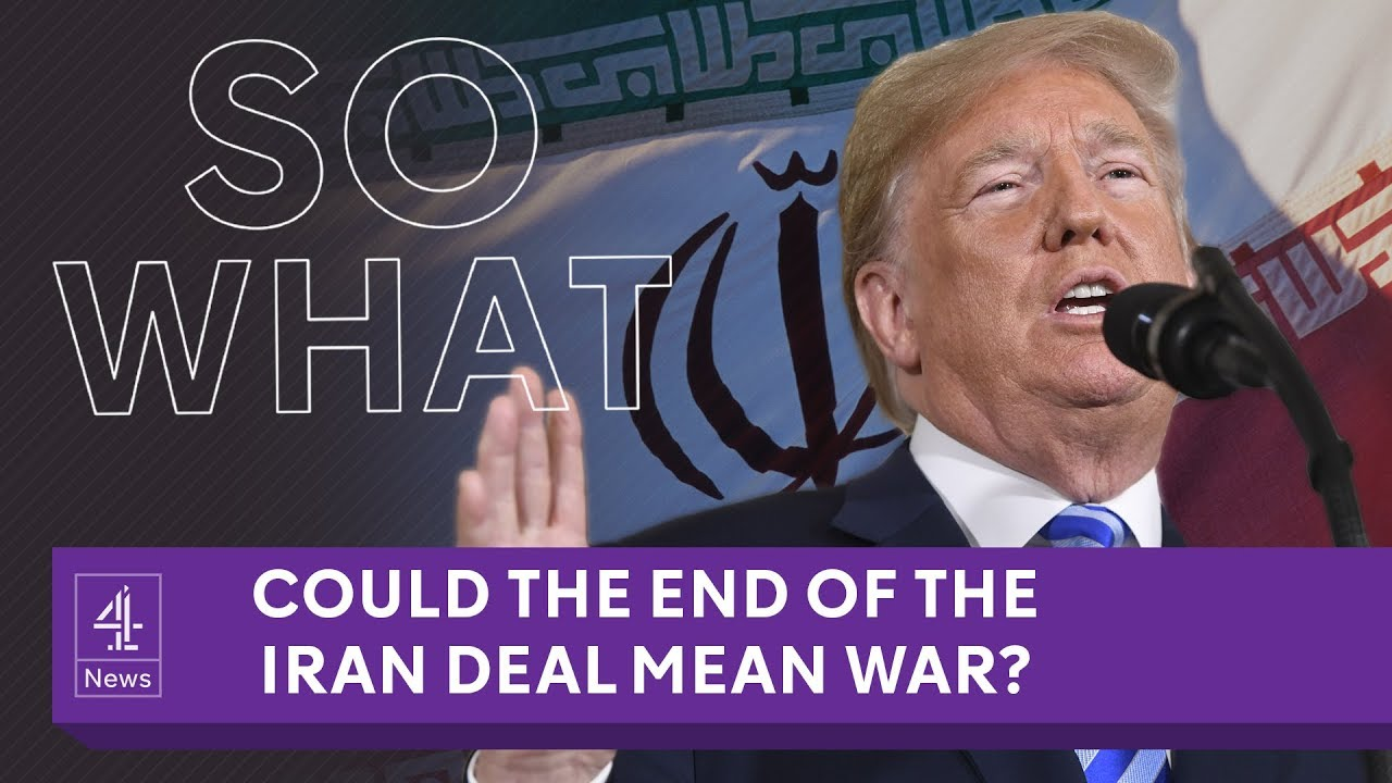 Is this the end of the Iran deal?