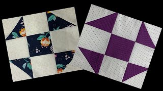 QUILT BLOCK OF THE MONTH #2 : SHOOFLY QUILT PATTERN