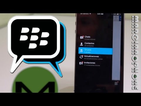 BBM OFICIAL para iOS & Android (Sorry Windows) (Demo/Semi-Tuto)
