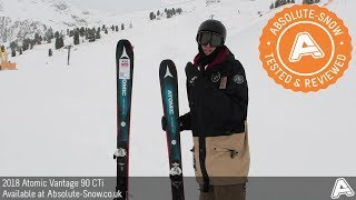 2017 / 2018 | Atomic Vantage 90 CTi Skis | Video Review