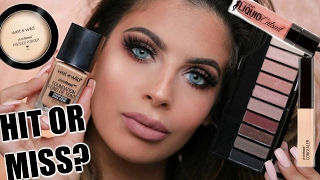 NEW! WET N WILD  DRUGSTORE MAKEUP | HIT OR MISS??
