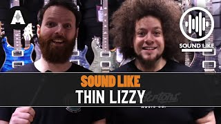 Sound Like Thin Lizzy | BY Busting The Bank