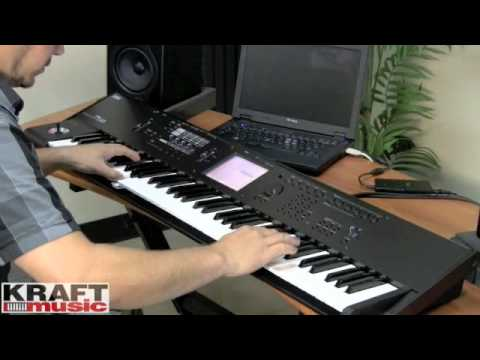 Kraft Music - Korg M50 Workstation Demo with Rich Formidoni