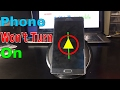 Phone wont power on black screen blinking light everything explained get fixed mp3