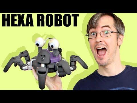 Vincross HEXA Hexapod Robot Unboxing and Review   XRobots