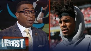 Cris Carter explains why Cam Newton won't return from injury this season | NFL | FIRST THINGS FIRST