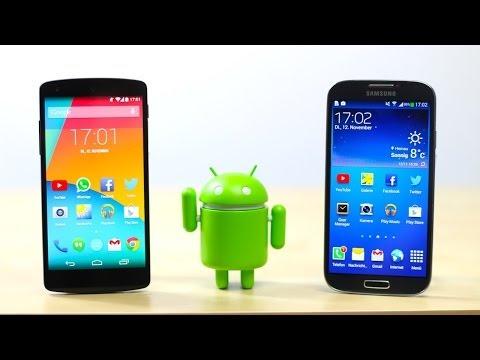 Google Nexus 5 vs Samsung Galaxy S4 | SwagTab