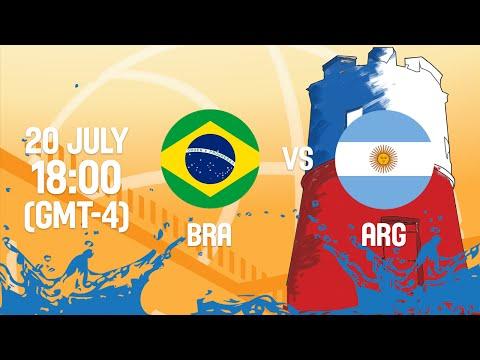 Brazil v Argentina - Full Game - Group A - 2016 FIBA Americas U18 Men's Championship