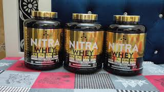 One Science Nutrition Nitra Whey Review | Best Whey Protein with Maca, Tribulus, DAA & digestive enz