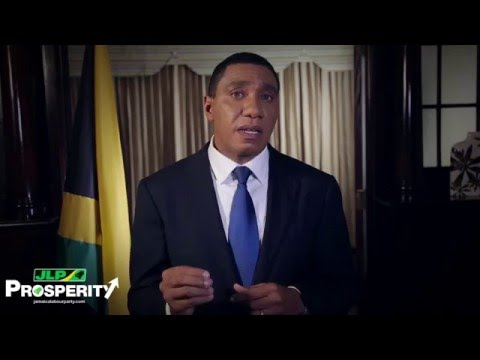 National Address by The Hon. Andrew Holness - February 4, 2016