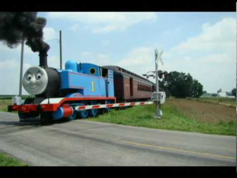 Thomas The Tank Steam Engine & Amish Buggy
