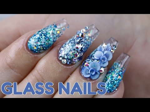 HOW TO: GLASS NAILS | ACRYLIC TUTORIAL