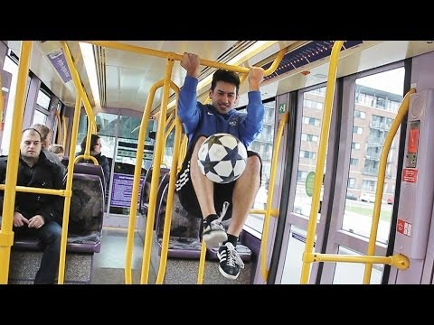 Amazing Soccer Tricks In Dublin - Daniel Dennehy Freestyle Champion video