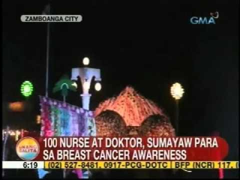 Ub: 100 Nurse At Doktor Sa Zamboanga City, Sumayaw Para Sa Breast Cancer Awareness video