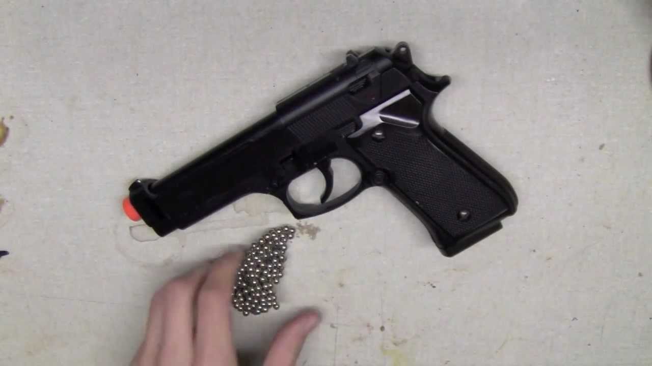 Quick And Easy Make Any Spring Airsoft Gun Semi Auto