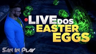 LIVE DOS EASTER EGGS' - Causando no GTA Online!